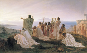 Pythagoreans celebrate sunrise image by Bronnikov